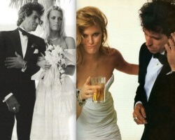 Keith Richards & Patti Hansen